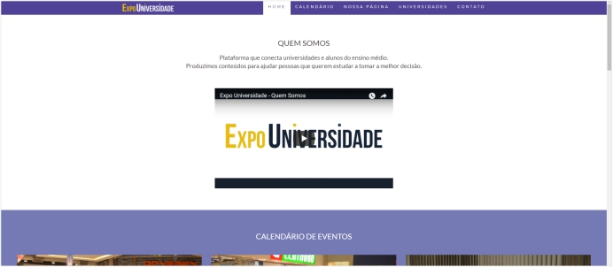 Site Expo Universidade